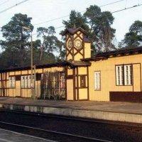 Dworzec kolejowy w Puszczykowie i Puszczykówku  train station