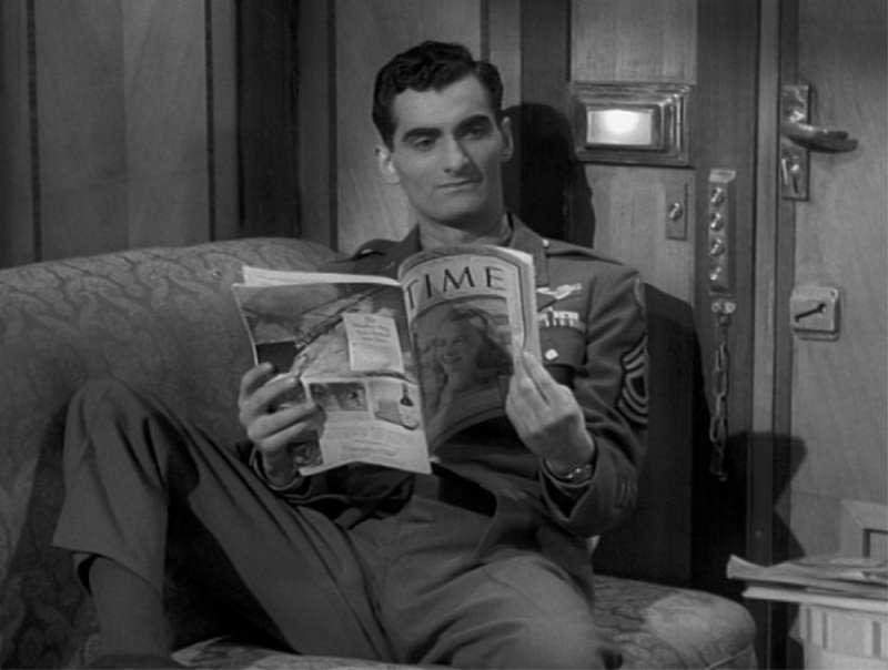 Wagon sypialny do Triestu  1948 film o pociągach