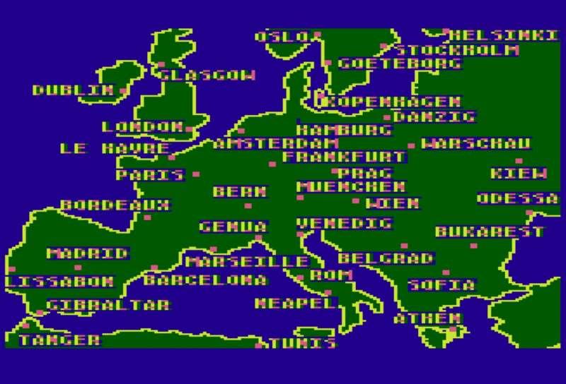Globetrotter  1984 gra o pociągach