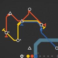 Mini Metro 2015 trains game