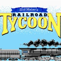 Railroad Tycoon 1990 trains game