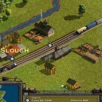 Railroad Tycoon II 1998 trains game