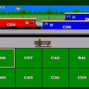 Sensible Train Spotting 1995 trains game