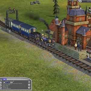 Sid Meier's Railroads! 2006 trains game