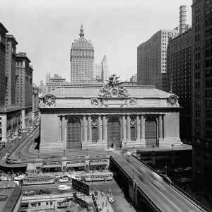 Dworzec Grand Central Station  1937 trains radio show