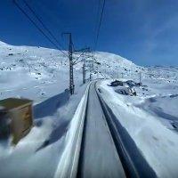 Linia kolejowa Oslo-Bergen train videos
