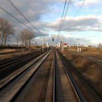Widok z kabiny Warszawa Wschodnia - Gdynia Główna train videos