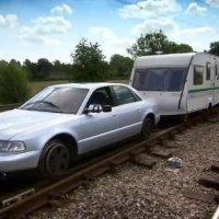 Załoga Top Gear buduje pociąg, część 1 train videos