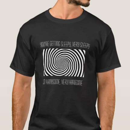 Hypnotyczny T-shirt