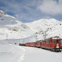 Linia kolejowa Bernina  famous railway line